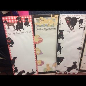 Magnetic Dog and Cat Notepads (6)